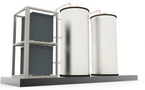 A Waterless™ DX Geothermal unit can solve commercial needs such as: